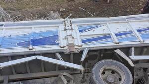 Yusufeli'nde kaza: 1 ölü, 5 yaralı