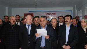 İhraç edilen Memur-Sen temsilcisi için basın açıklaması