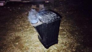 Sobadan çıkan yangında 2 kişi dumandan etkilendi