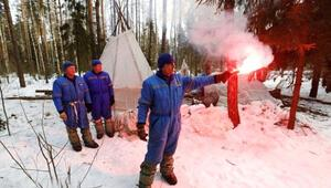 Astronotlara zorunlu kış eğitimi