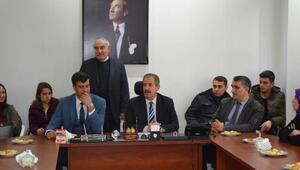 Aday öğretmenlerden Başkan Necati Gürsoy'a ziyaret