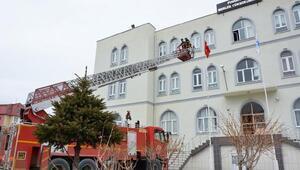 Vize ve Pınarhisar'da yangın söndürme tatbikatı yapıldı