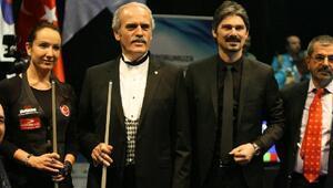 Bursada düzenlenen 3 Bant Bilardo Dünya Kupasının seremonisi yapıldı