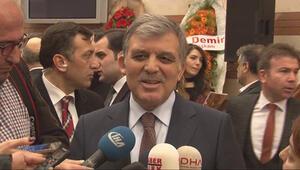 Abdullah Gül: Çok rahatsız edici ve çok vicdan yaralayıcı