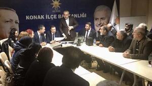 Ak Parti milletvekili Kaya, referandum için mahalle başkanlarıyla buluştu