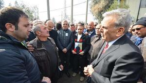 Kaza kurbanı İZBETON çalışanı için tören düzenlendi
