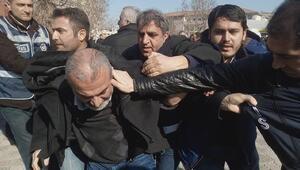 Malatya'da KESK'in ihraçlara karşı düzenlediği eylemde 31 kişi gözaltına alındı
