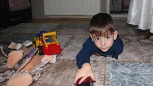 Engelli sayılmak isteyen 5 yaşındaki Duhan: Benim hiç arkadaşım yok