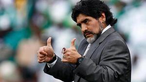 FIFA'da işbaşı yapacak olan Maradona güldürdü