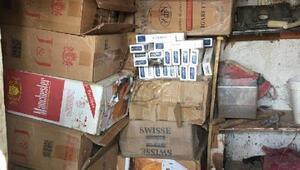 Yüksekovada 77 bin 500 paket kaçak sigara ele geçirildi