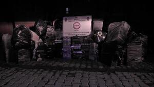 TIRda 49 bin paket gümrük kaçağı sigara bulundu