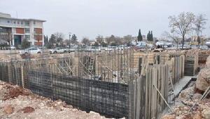 Nizipte SGK binası temeli atıldı