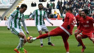 Atiker Konyaspor - Antalyaspor: 1-1