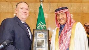 CIA Başkanı'ndan Suudi Prens'e nişan