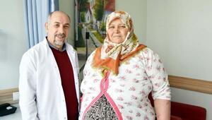 Morbid obez hastası Anka'da şifa buldu