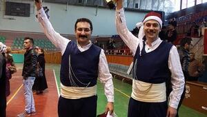 Gençlik ve spor kulübü, halk oyunlarında il birinciliğini kazandı