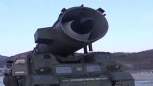 Kuzey Koreden başarılı balistik füze denemesi