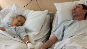 Kanser hastası çift bir hafta arayla hayatını kaybetti