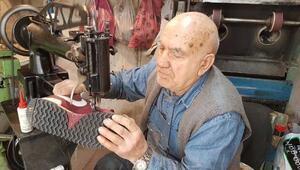 Ayakkabı tamirine 70 yılını verdi