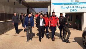 Sağlık Bakanlığından Suriyenin Rai bölgesine hastane