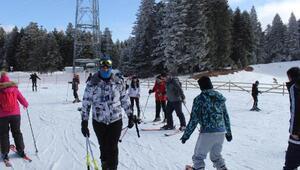 Ücretsiz kayak öğrendiler