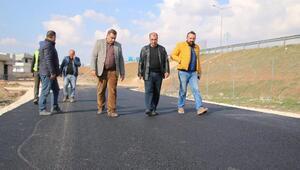 Suruç'ta asfalt çalışması