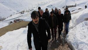 AK Parti Hakkaride başkanlık sistemine destek için köyleri dolaşıyor