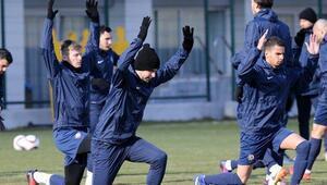 Osmanlısporda Olympiakos maçı hazırlıkları başladı