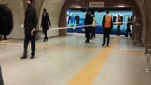 Kartal metrosunda engelli kişi intiara girişiminde bulundu