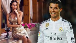 Rus modelden Cristiano Ronaldo için olay açıklama