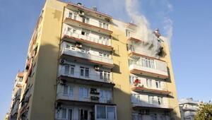 Songül, ailesini yangından kurtardı