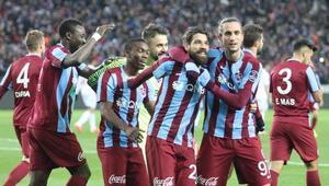 Trabzonsporun golleri ilk yarıda