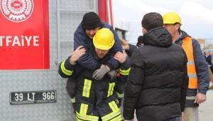 Ahmetbey Belediyesi'nde yangın tatbikatı