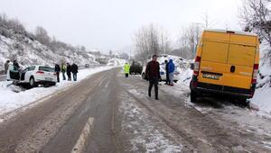 Zonguldakta kar ulaşımı aksattı