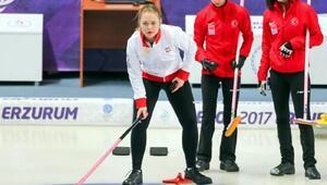 Avrupa Gençlik Olimpik Kış Festivalinde Polonyalı kızlar curlingte Türkiyeyi yendi