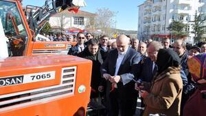 Gönen Belediyesine yeni araçlar