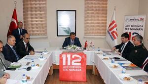 112 Koordinasyon Kurulu toplandı