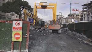 Metro inşaatında kaza: 1 işçi öldü