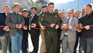 Muhtarlık ve hizmet binası açıldı