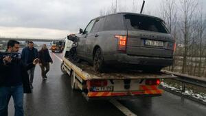 Sıla kaza geçirdi - fotoğraf