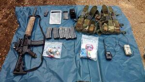 Mardinde PKKlılara ait silah ve mühimmat ele geçirildi