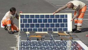 Fransa yollardan elektrik üretecek