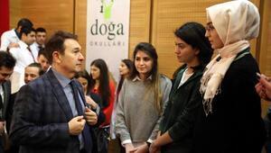 AGÜ Rektörü Sabuncuoğlu, üniversite adayı öğrencilerle buluştu