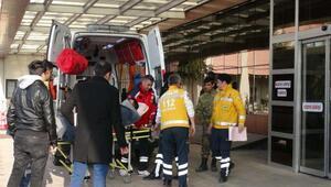 El Babda 5 asker yaralandı