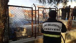 Besni'de baca yangını