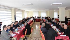 Çankırıda muhtar toplantılarının ilki Şabanözü'nde yapıldı