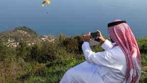 Körfez ülkelerinden gelen turist Karadenizi kurtardı