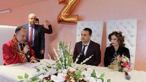 Başkan Saygılı, 14 Şubatta 16 çiftin nikahını kıydı