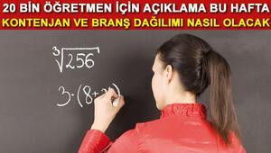 20 bin öğretmen ataması için hangi branşlar daha avantajlı olacak