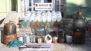 Çiftliğe kaçak içki operasyonu (2)